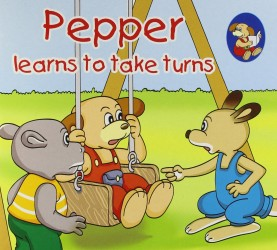 Pepper learns to take turns - Book Review